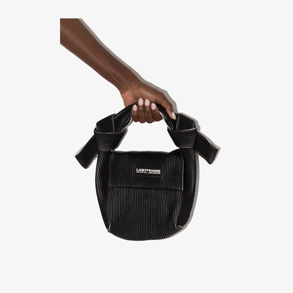 Black And White Obi Shoulder Bag