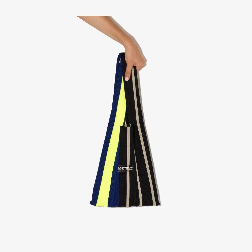 Multicoloured Medium Striped Tote Bag