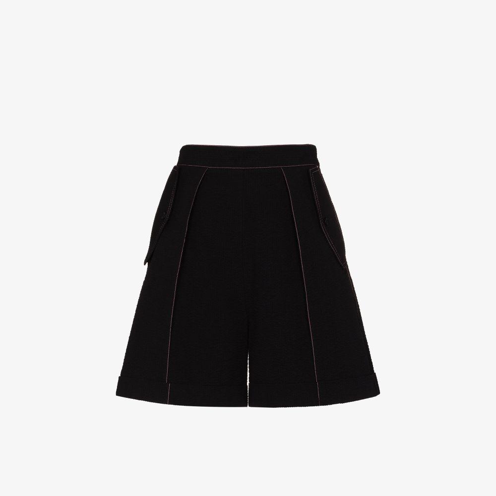 Sif Contrast Stitch Shorts
