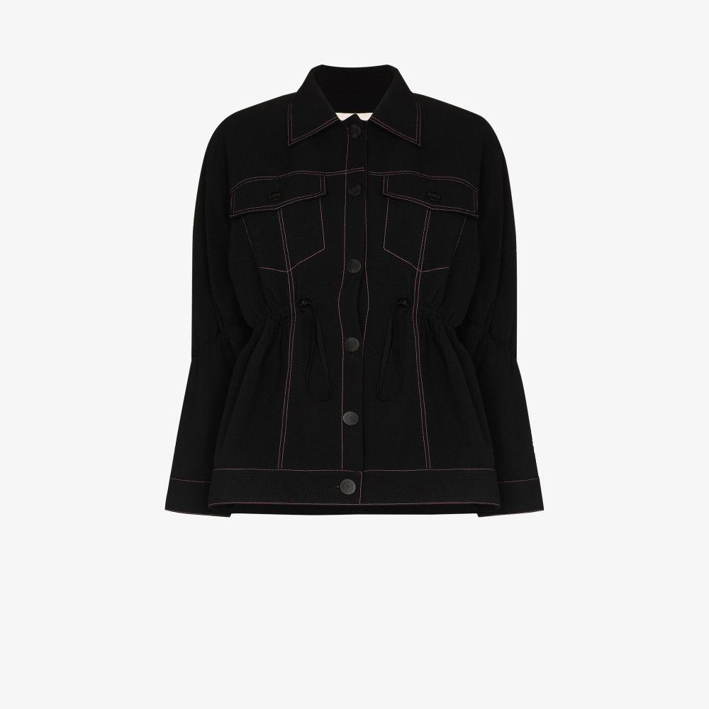 Evy Contrast Stitch Jacket