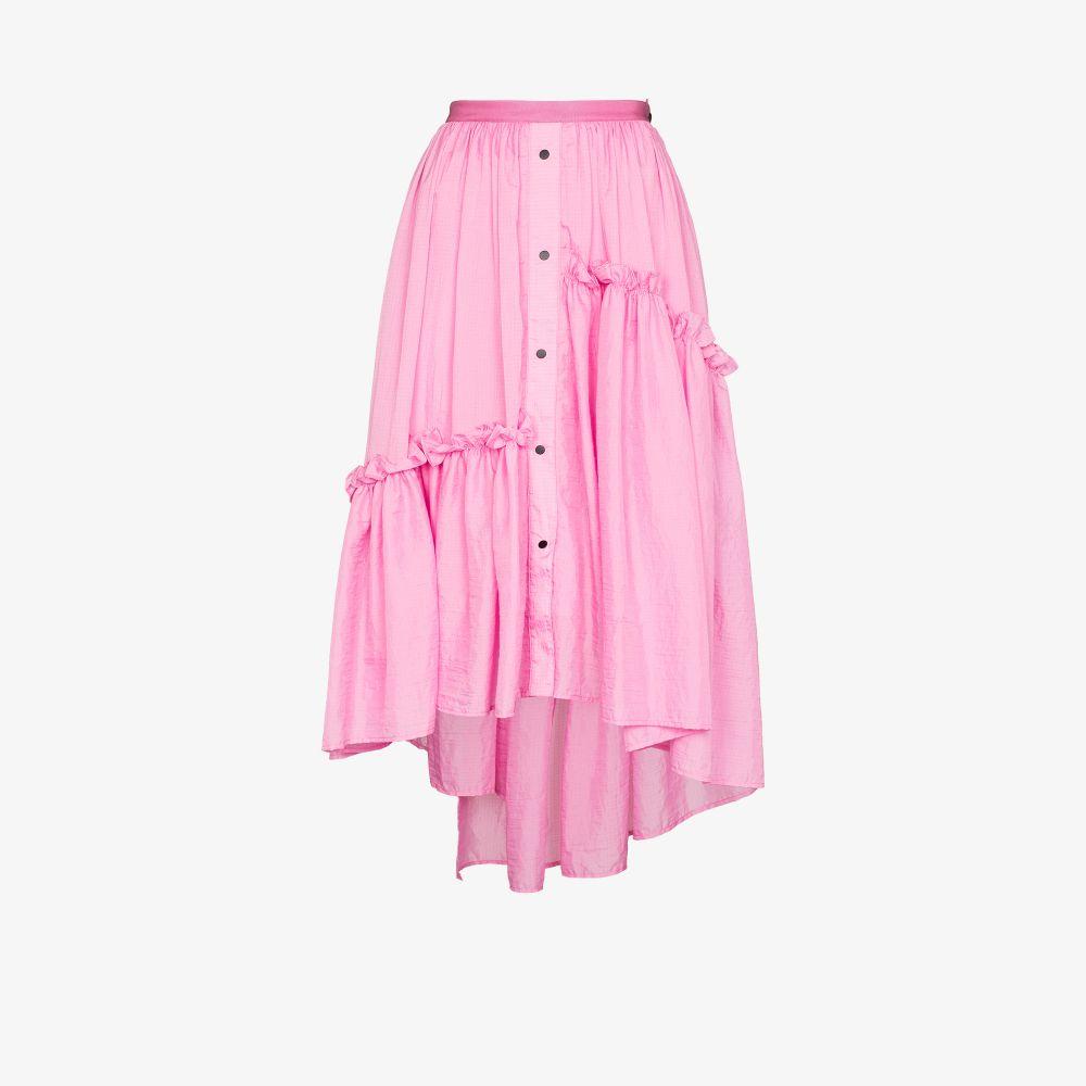 Embla Tiered Midi Skirt