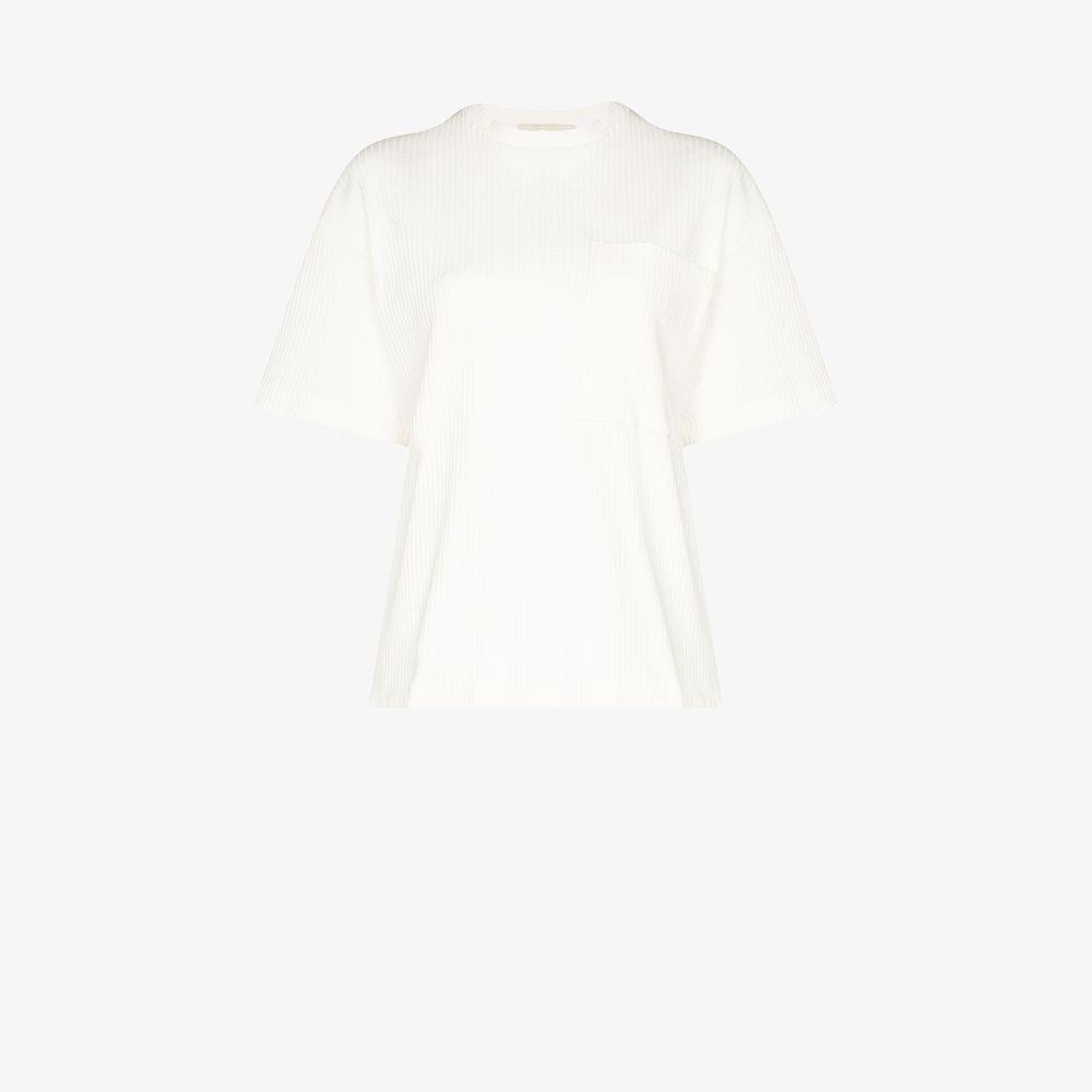 Ribbed Knit T-Shirt