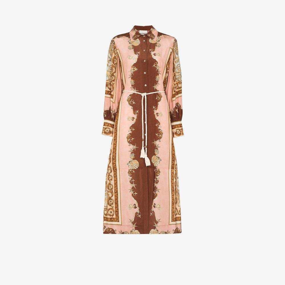 Ursula Printed Silk Dress