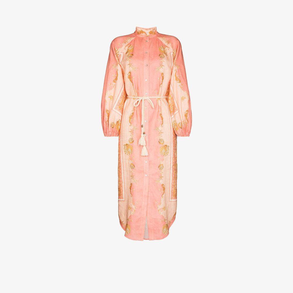 Ursula Printed Midi Dress
