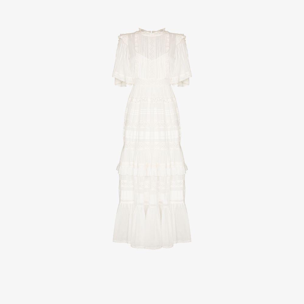 Penny Pintuck Cotton Dress