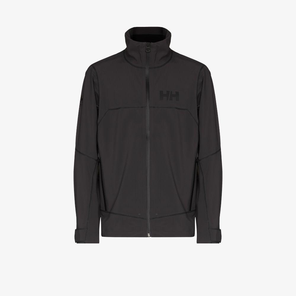 Grey Foil Pro Softshell Windbreaker Jacket