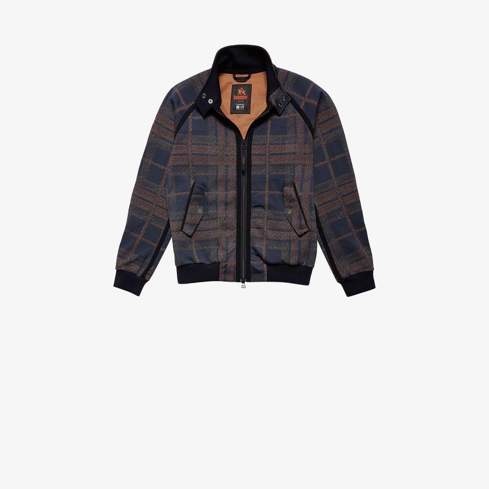 X Baracuta Blue G9 3D Tartan Jacket