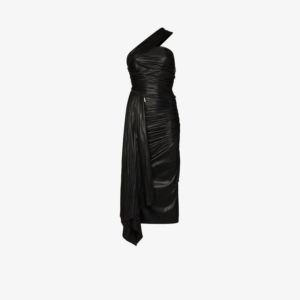 Taniyah Faux Leather Dress