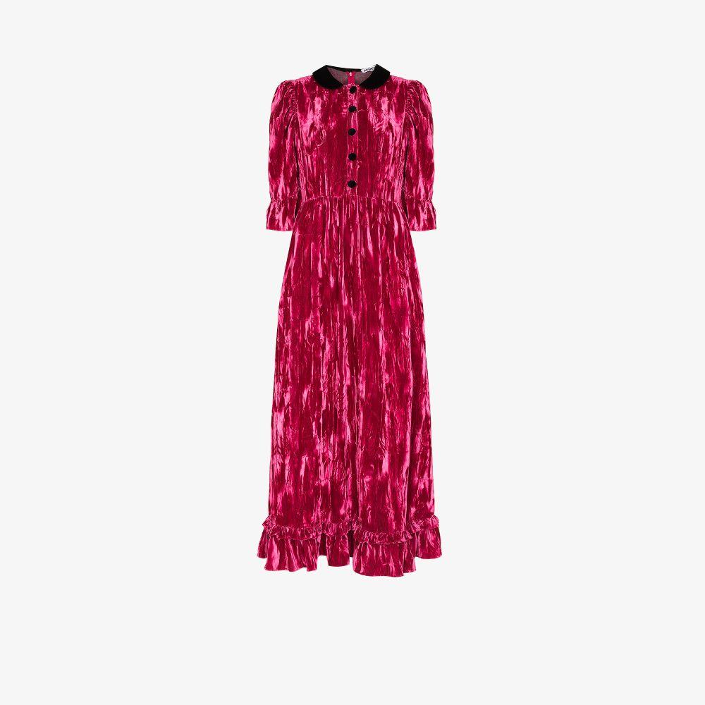 Ella Velvet Maxi Dress