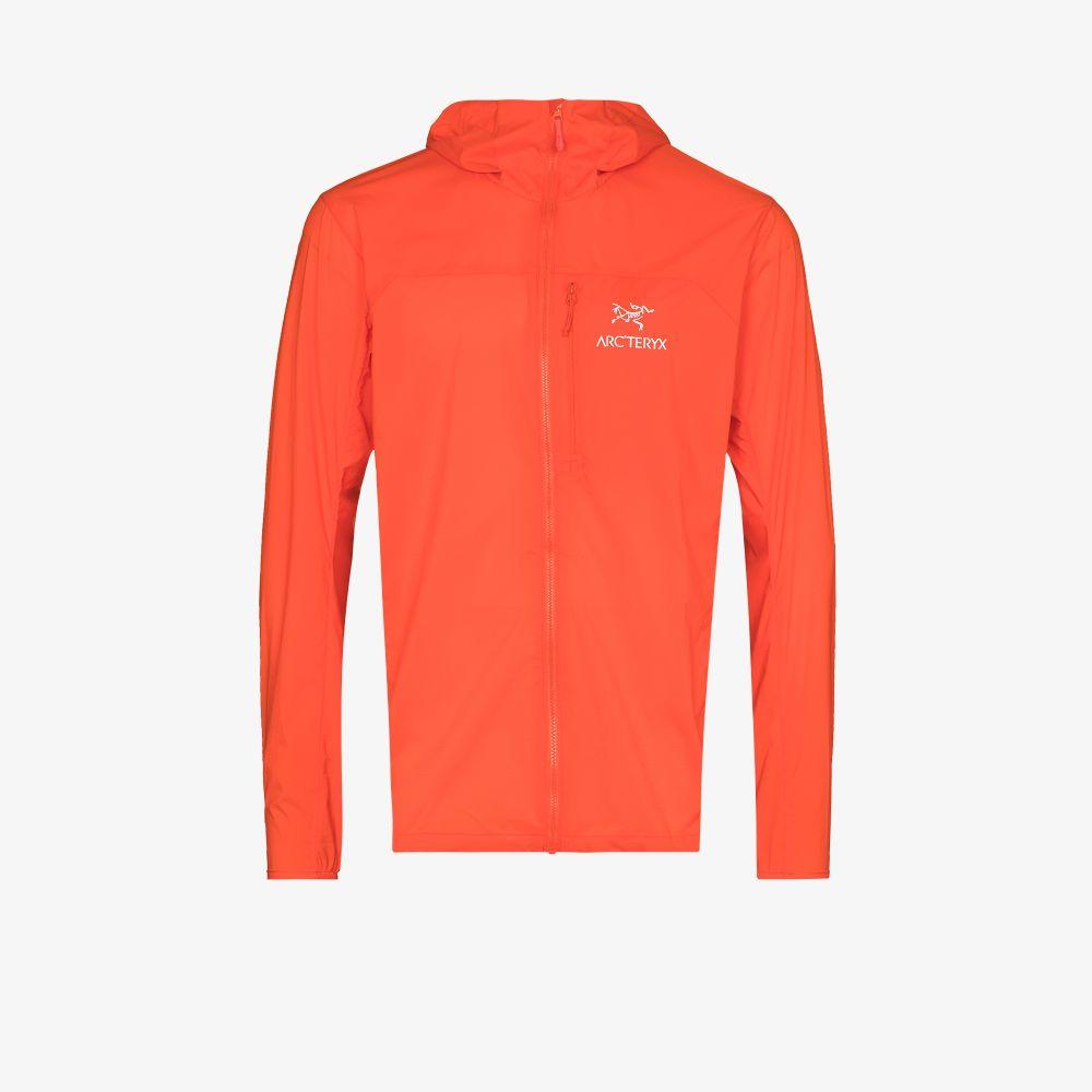 Red Squamish Hooded Jacket