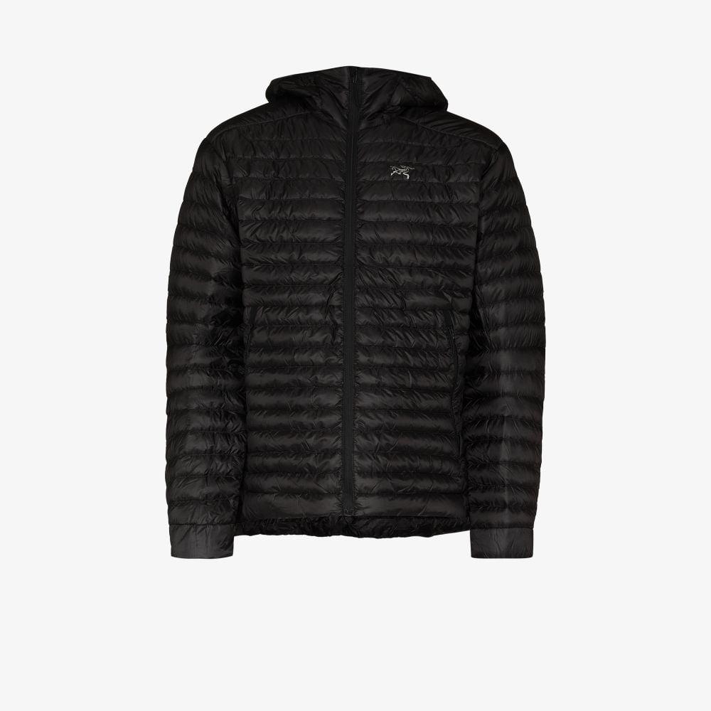 Black Cerium Padded Jacket