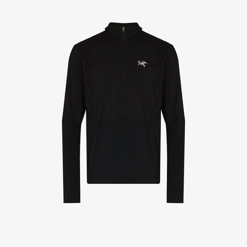 Black Aptin Hooded Jacket