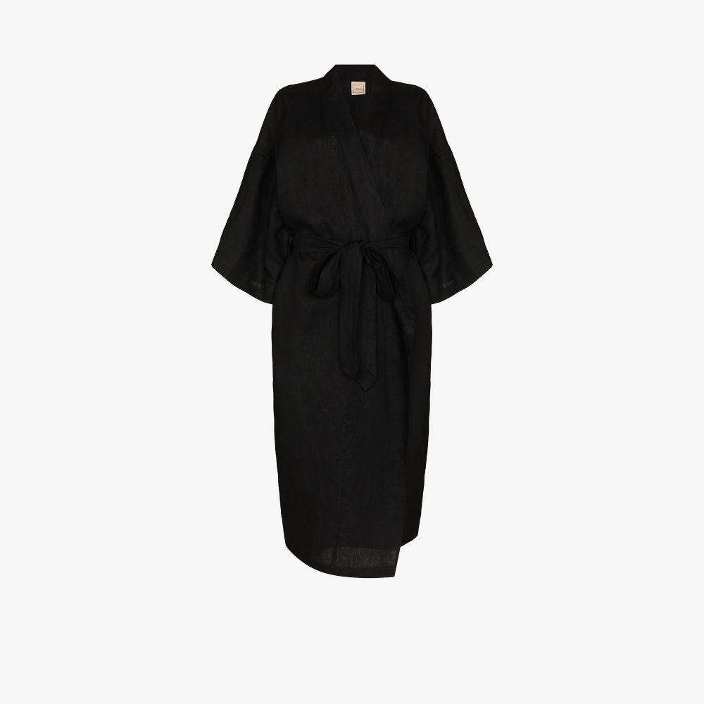 The 02 Linen Kimono Robe