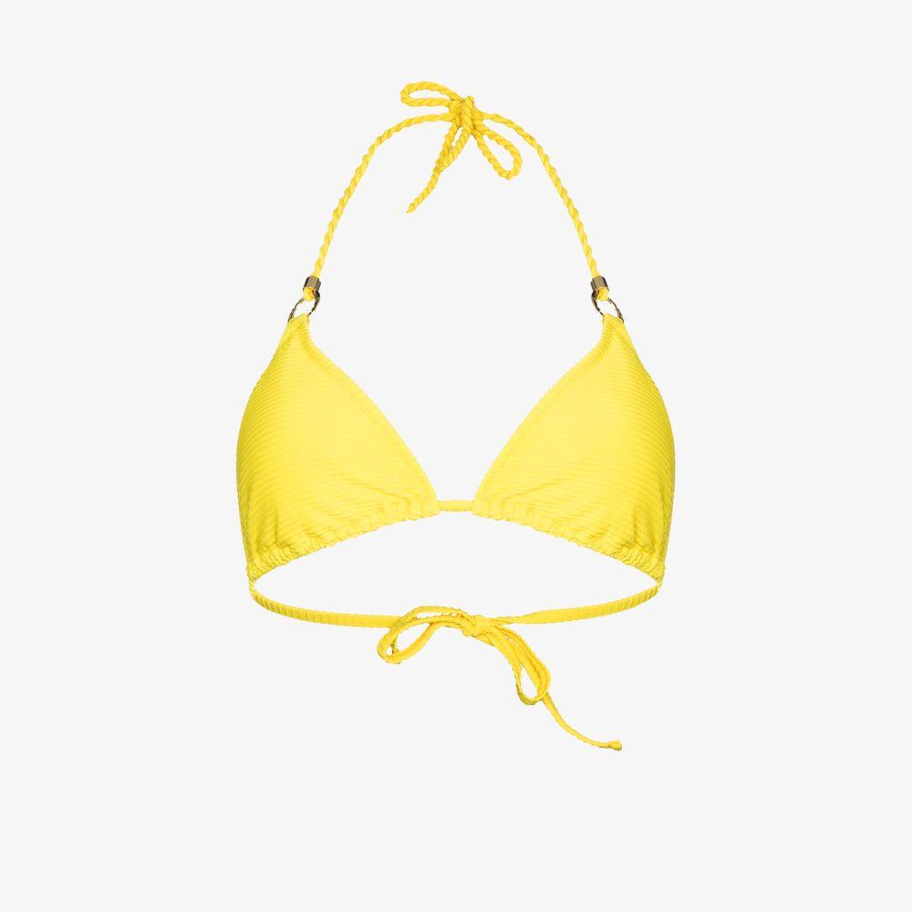Triangle Ring Detail Bikini Top