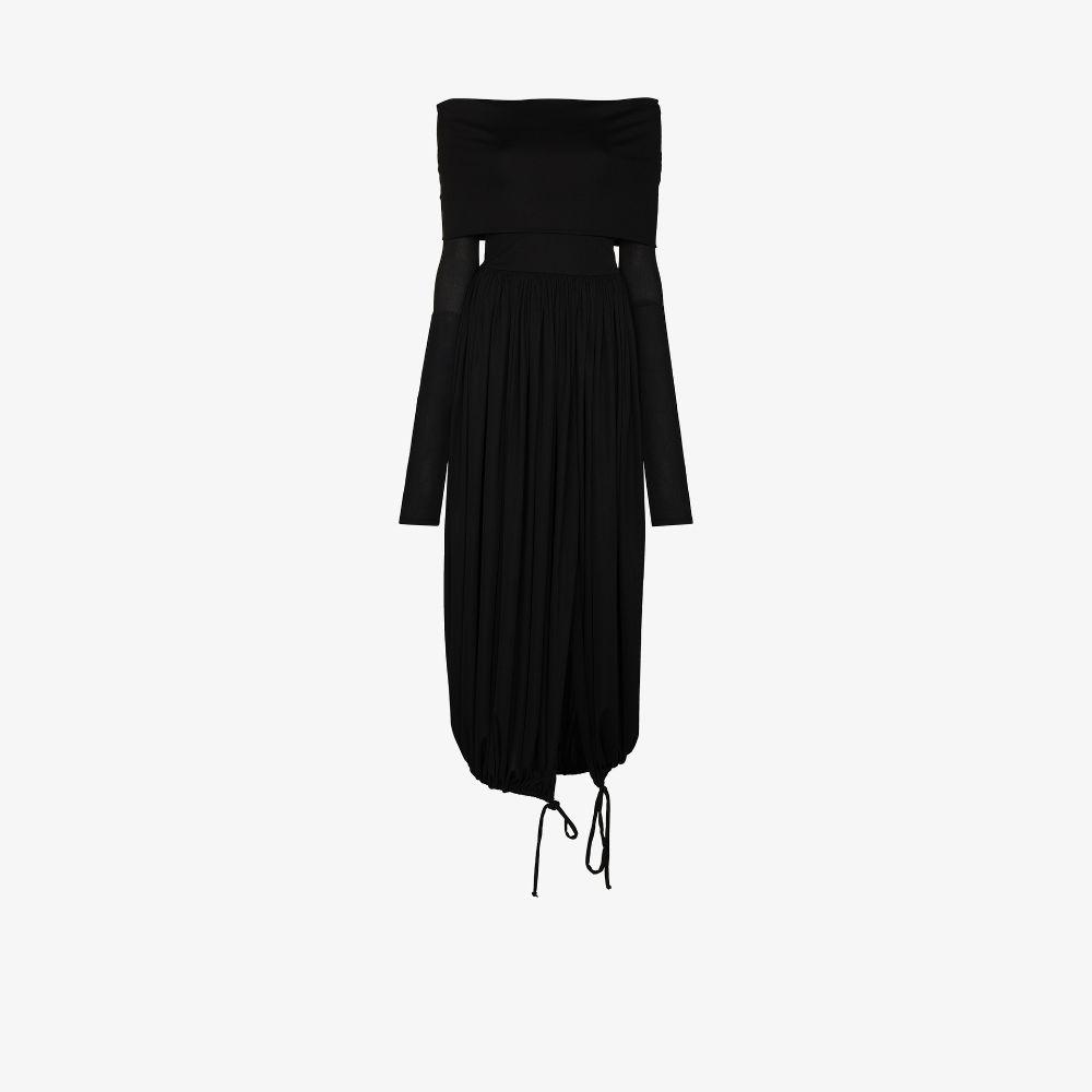 Stretch Off-The-Shoulder Dress