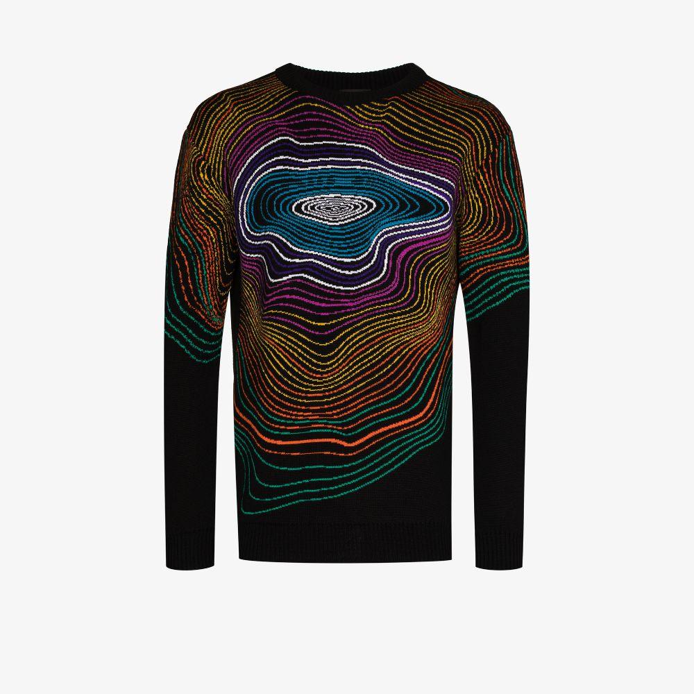 Swirl Jacquard Sweater