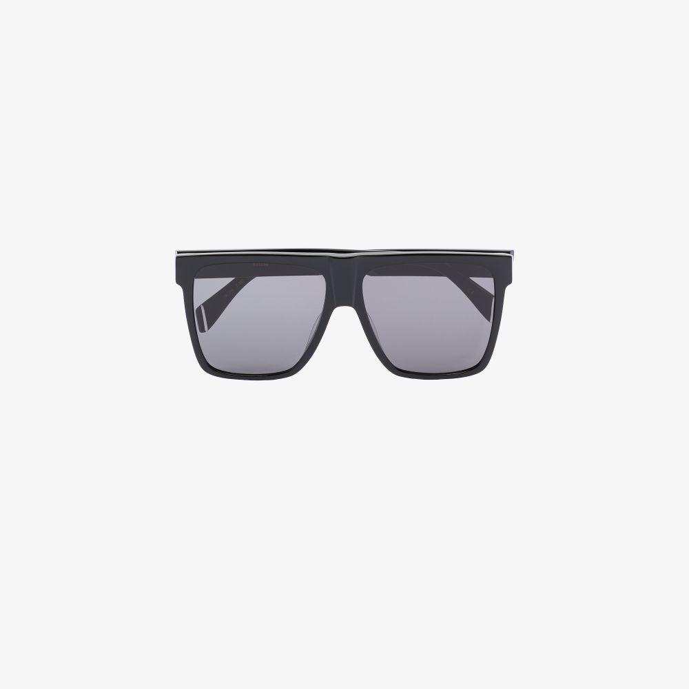 Black Winslow Oversized Sunglasses
