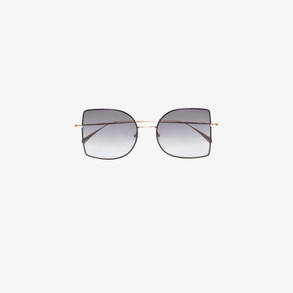 Black Bansal Oversized Sunglasses