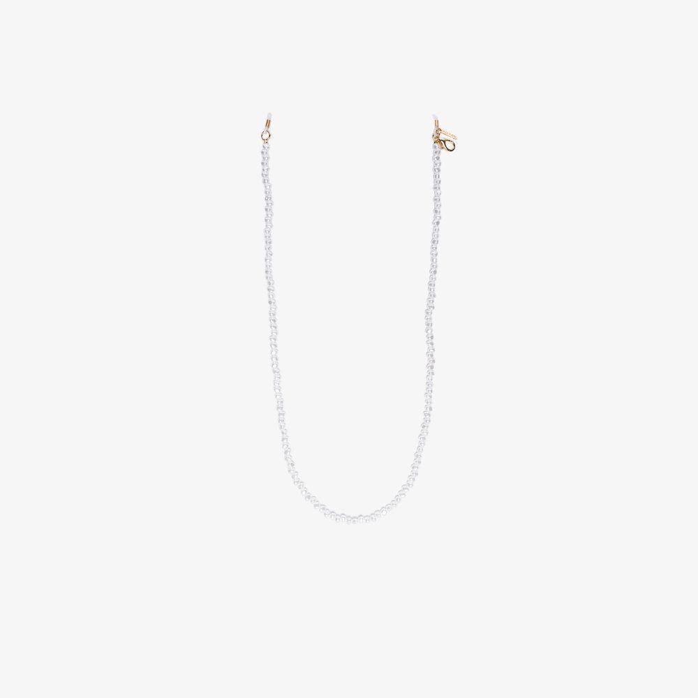 White Pearl Sunglasses Chain