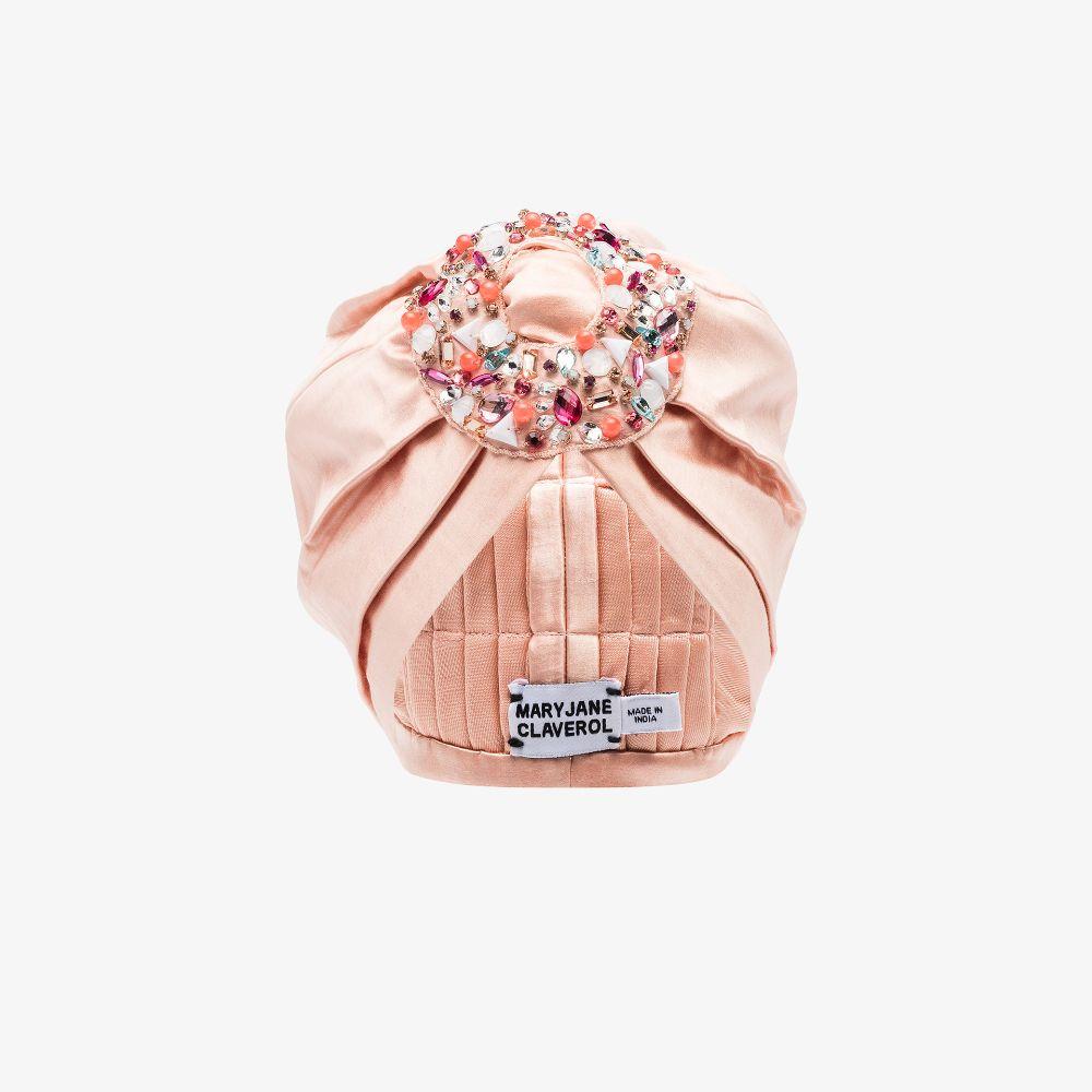 Pink Coelho Embellished Turban