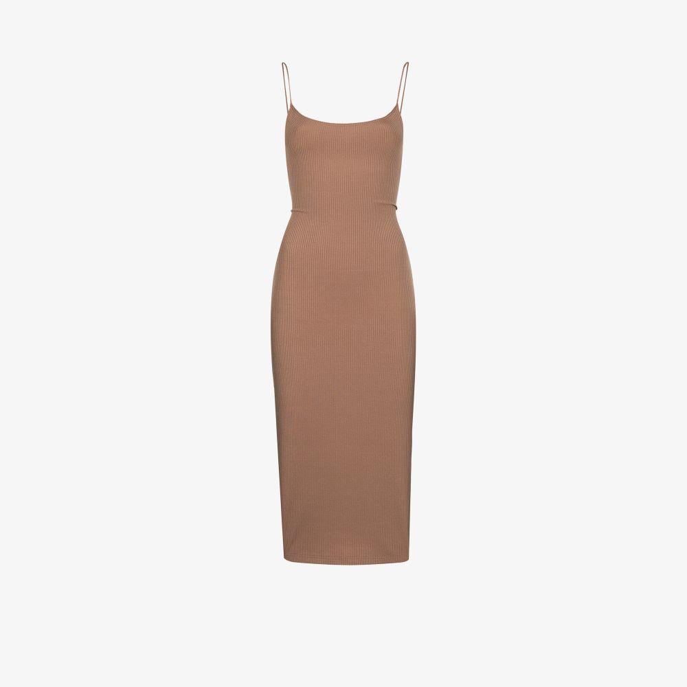 Kelsey Ribbed Knit Midi Dress
