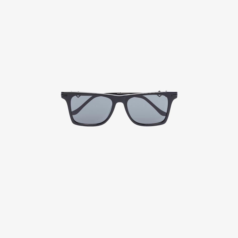 Black Harper 2.0 Square Sunglasses