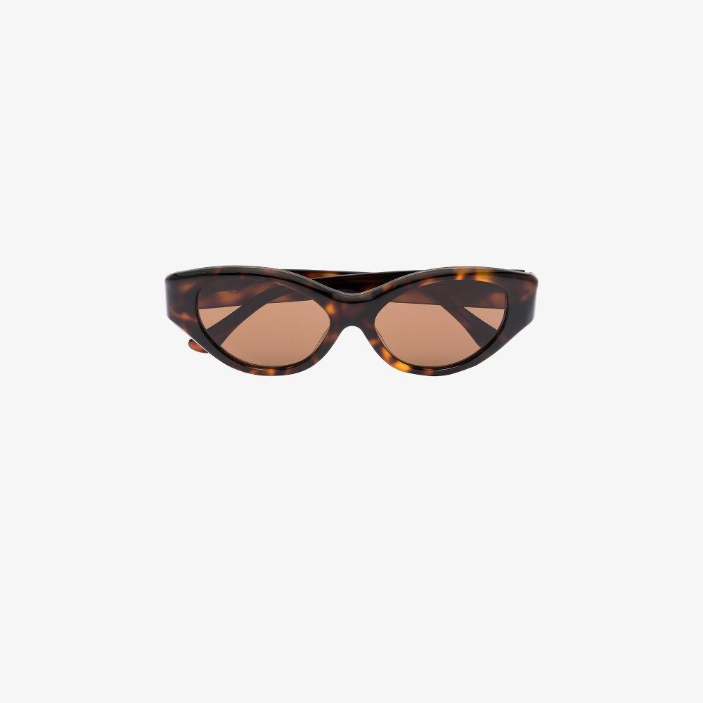 Brown Scarlett Cat Eye Sunglasses