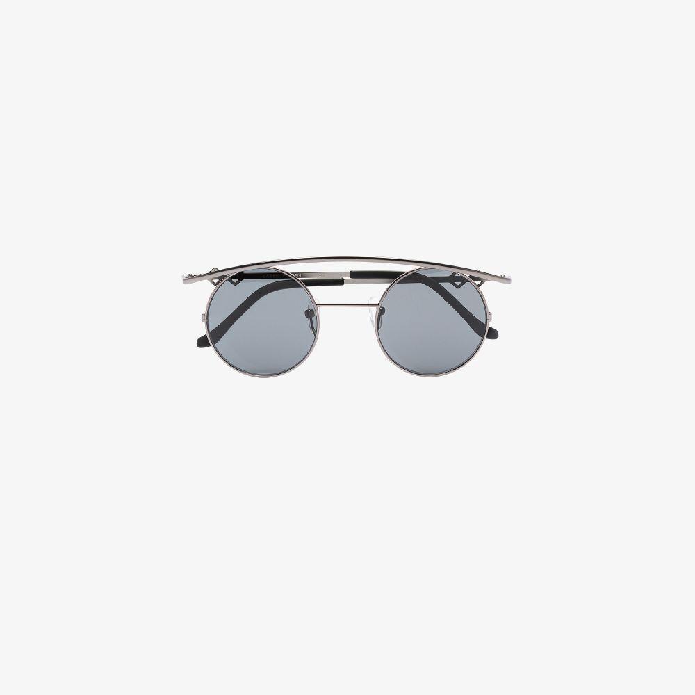Black Retro's Round Sunglasses