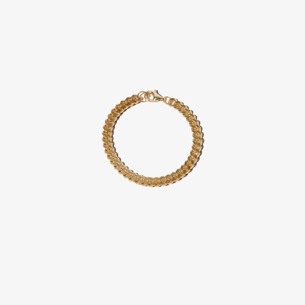 Gold-Plated Cuban Chain Bracelet