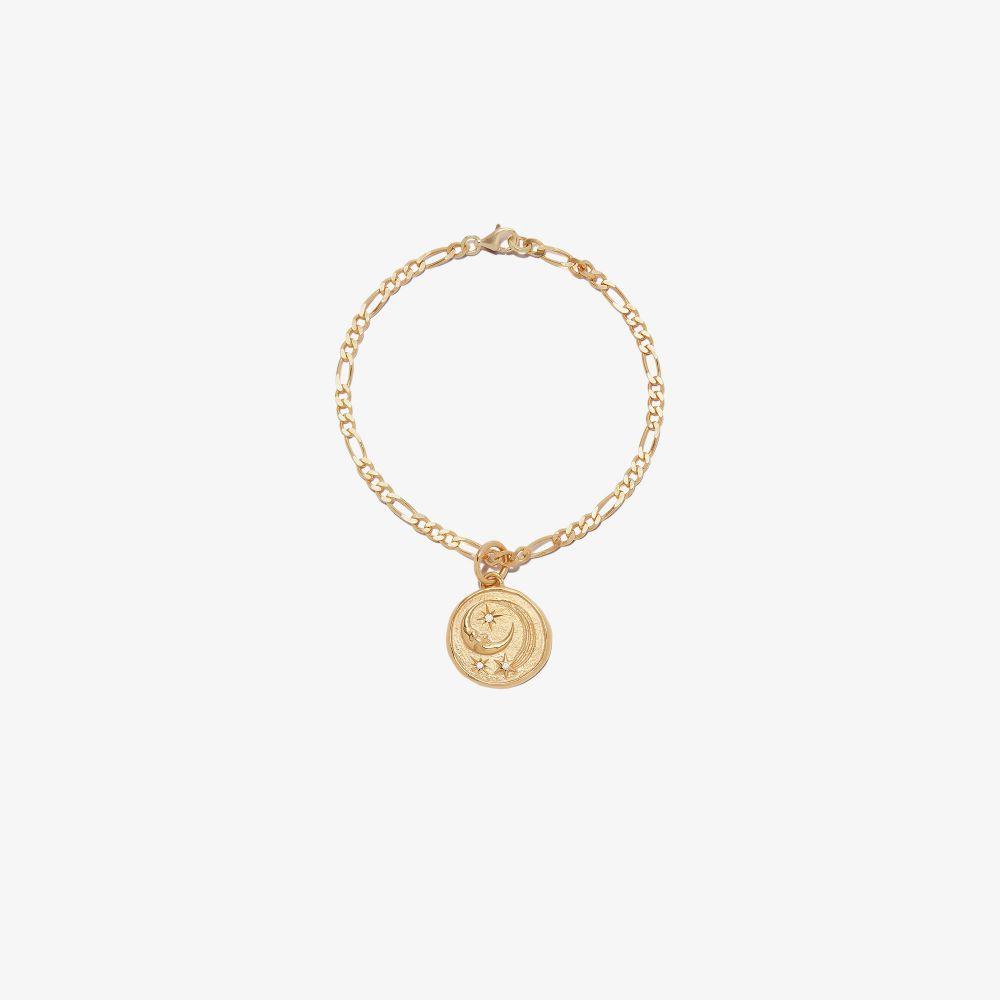 Gold-Plated Luna Charm Bracelet