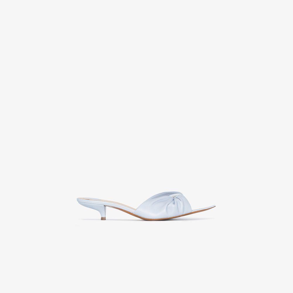 Blue Fioca 35 Leather Sandals