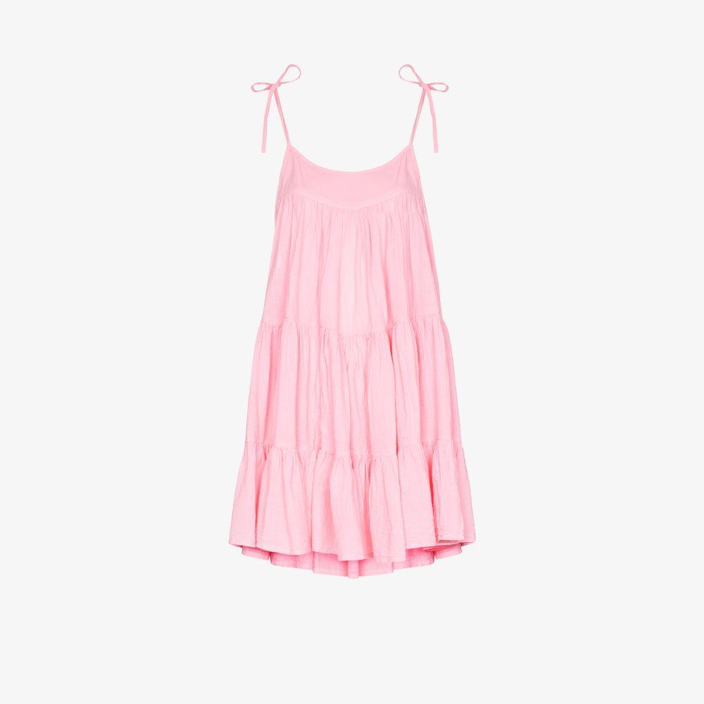 Peri Tiered Mini Dress