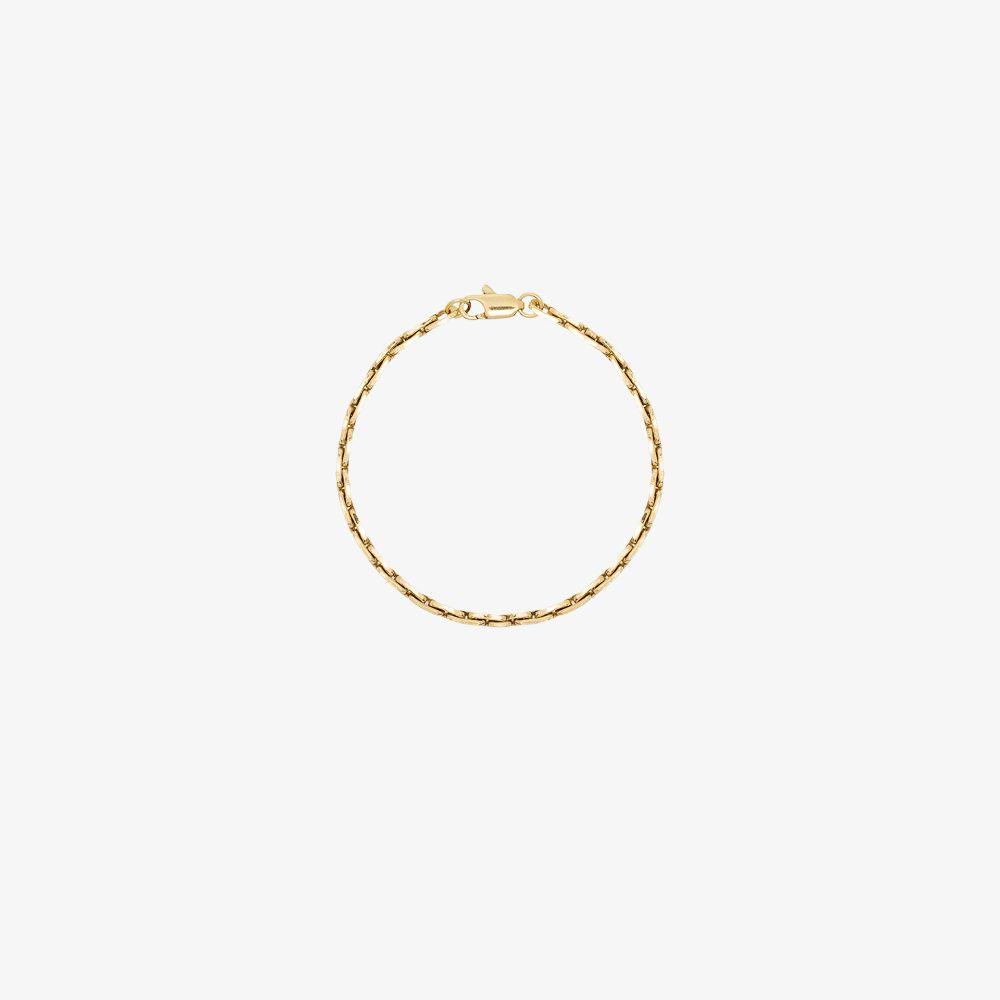 Gold-Plated Strada Chain Bracelet