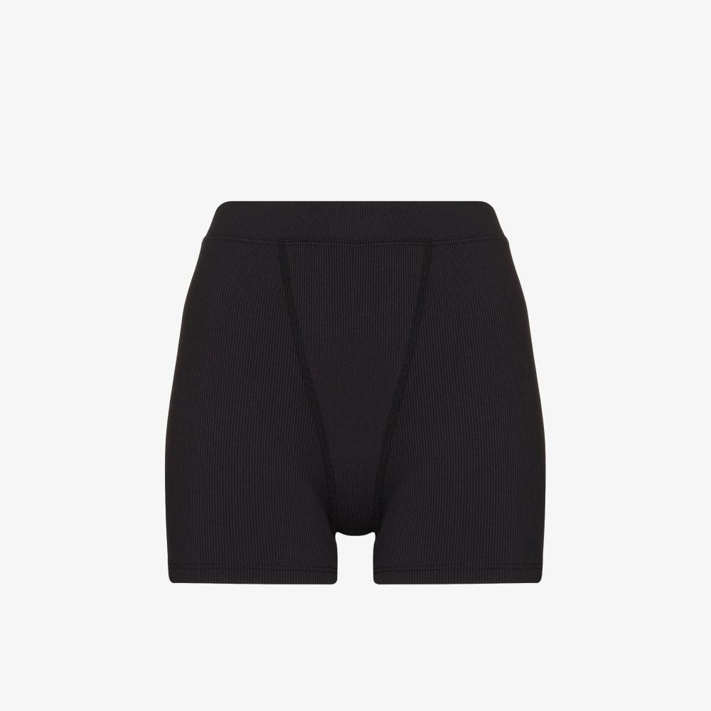 Greta Ribbed Mini Shorts