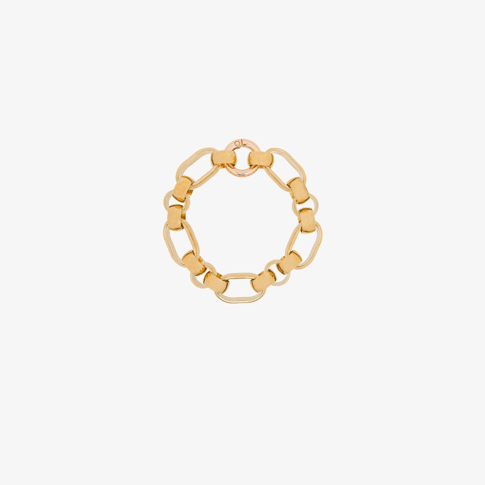 Gold-Plated Elena Chain Bracelet