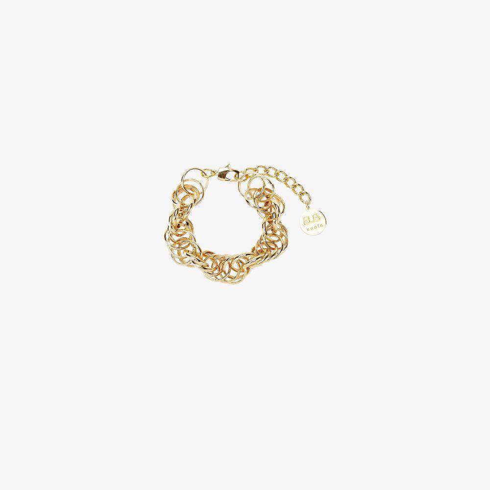 Gold-Plated Celeste Chain Bracelet