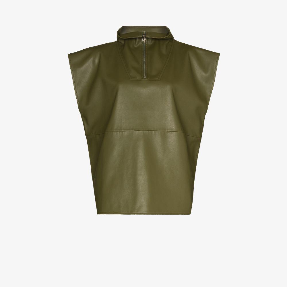 Noa Faux Leather Anorak