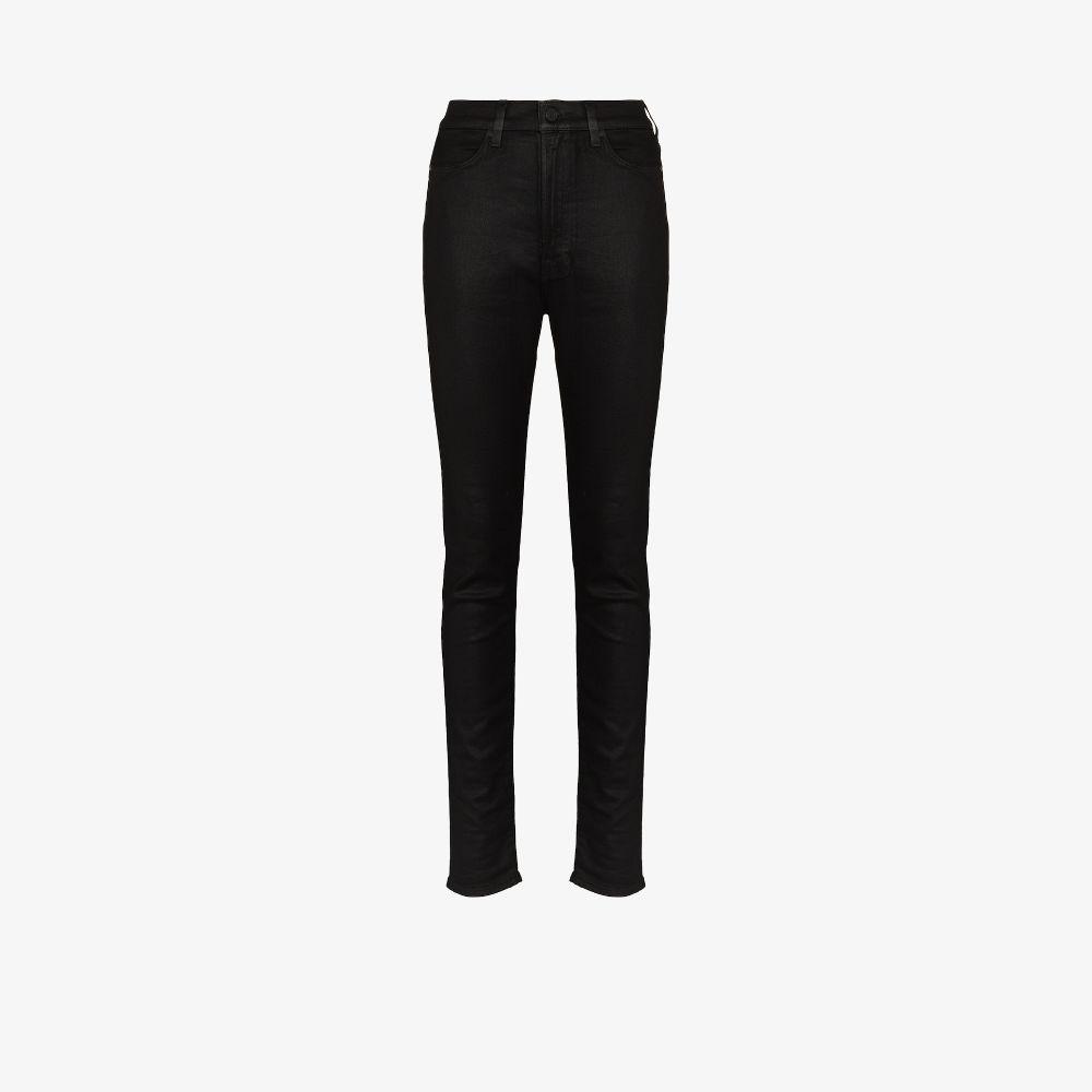 Alexandra Coated Skinny Jeans