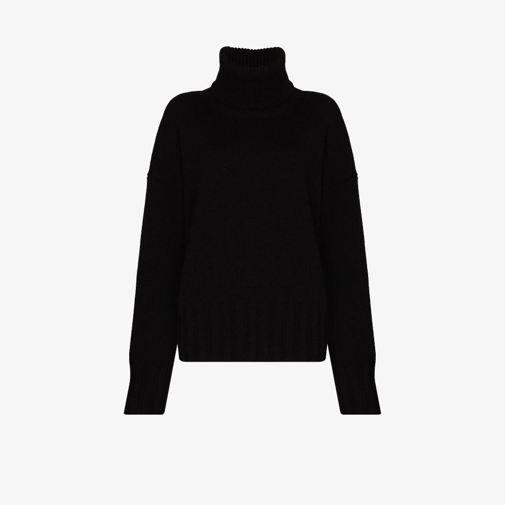 Made In Tomboy Black Ely Virgin Wool Sweater