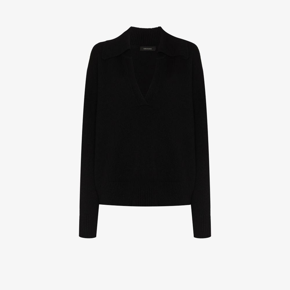 Musa Cashmere Polo Sweater