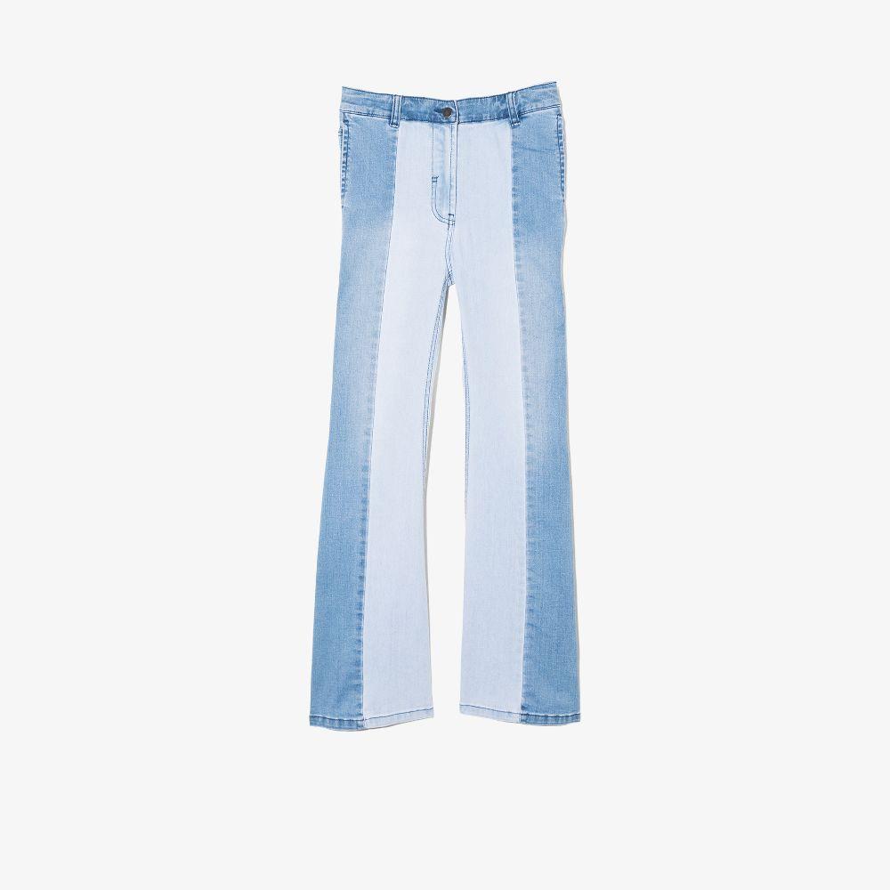 Stella Mccartney Kids' Blue Panelled Jeans