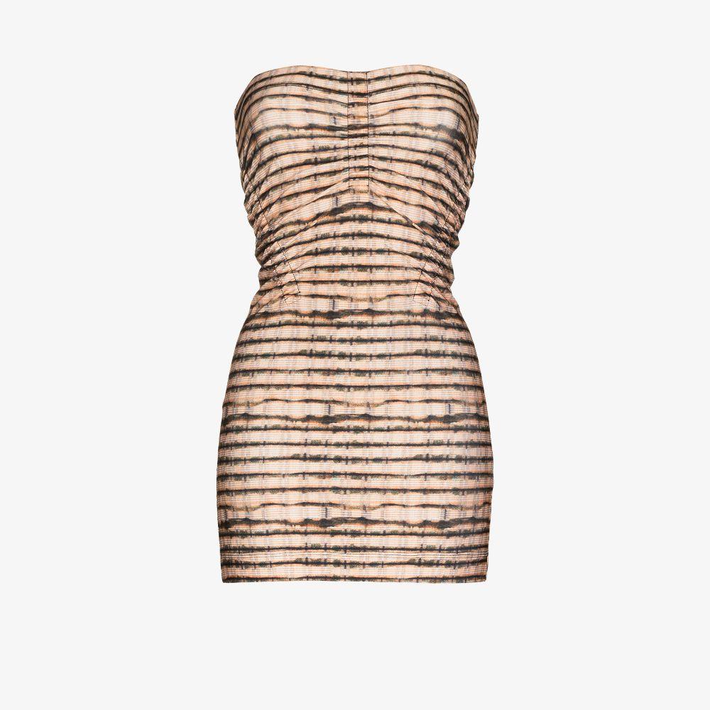 Skinn Strapless Mini Dress