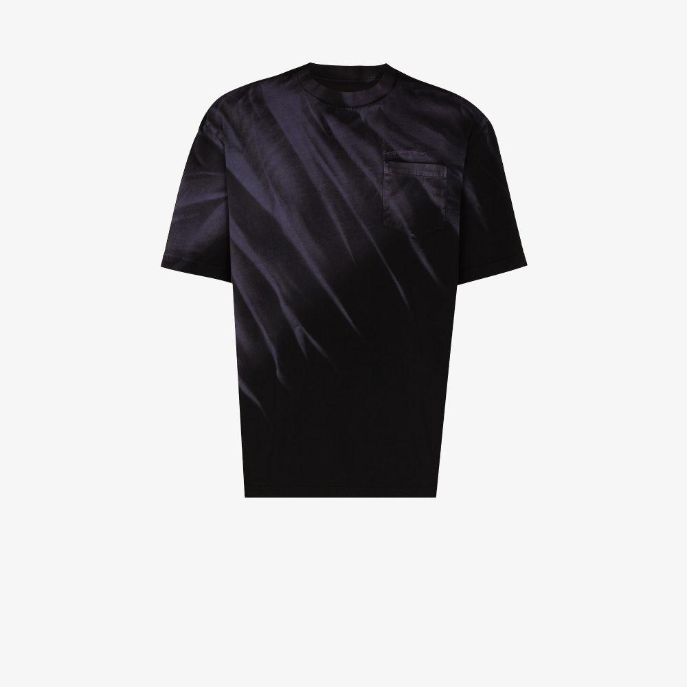Tie-Dye Terry Cotton T-Shirt