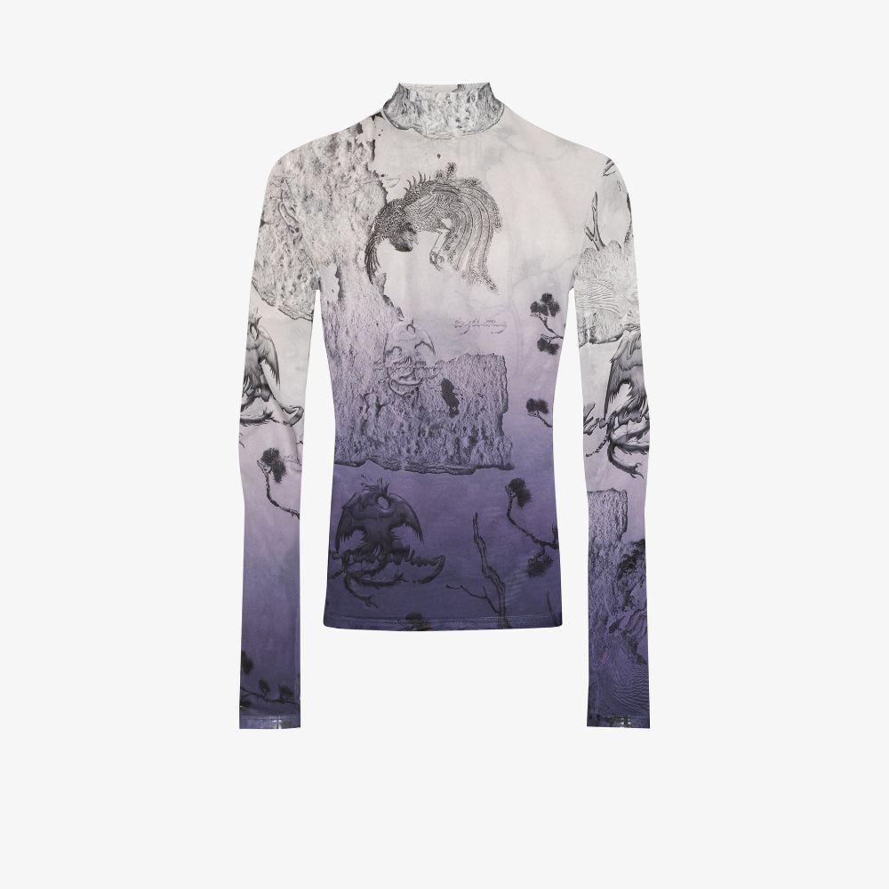 Chinese Landscape Print T-Shirt