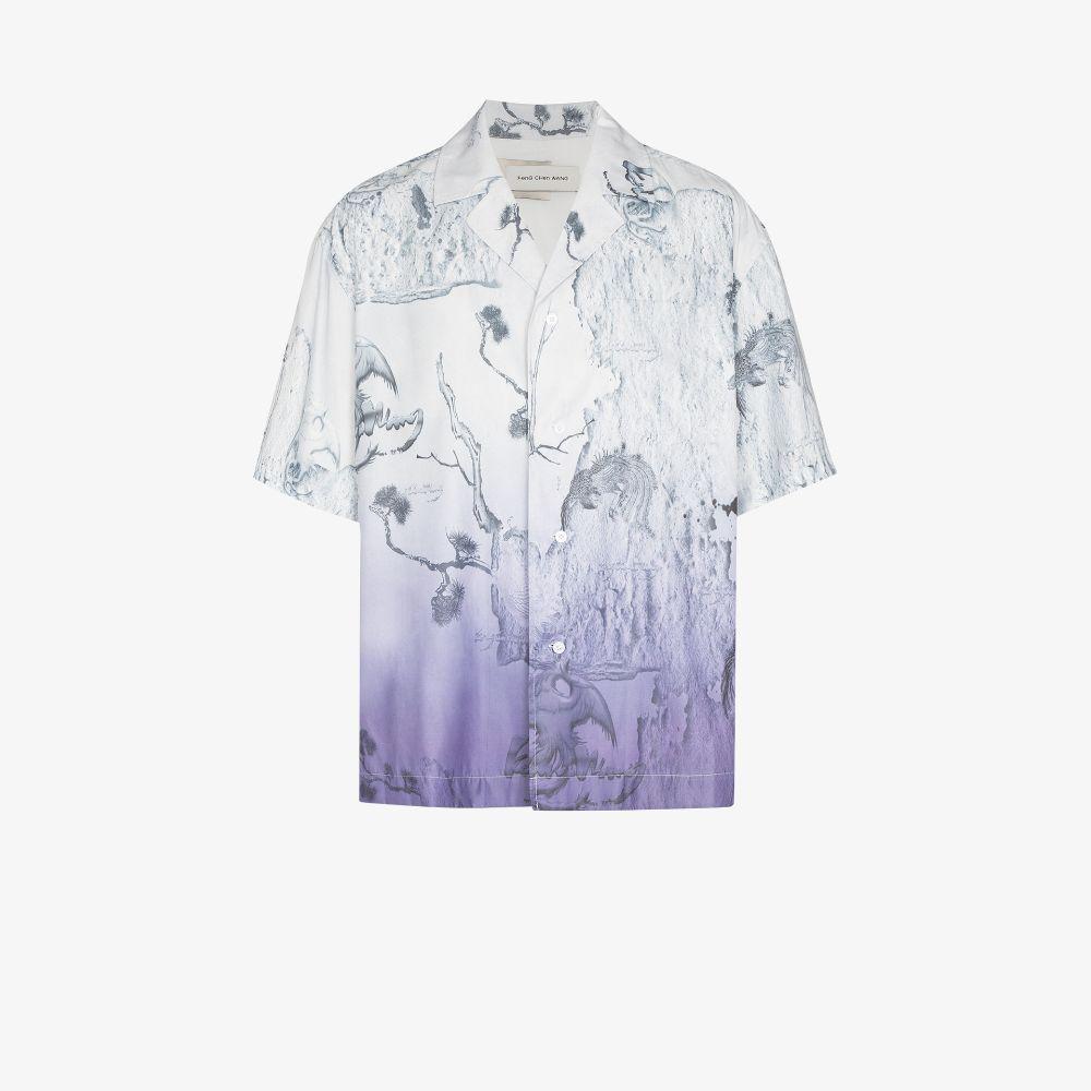 Floral Print Buttoned Shirt