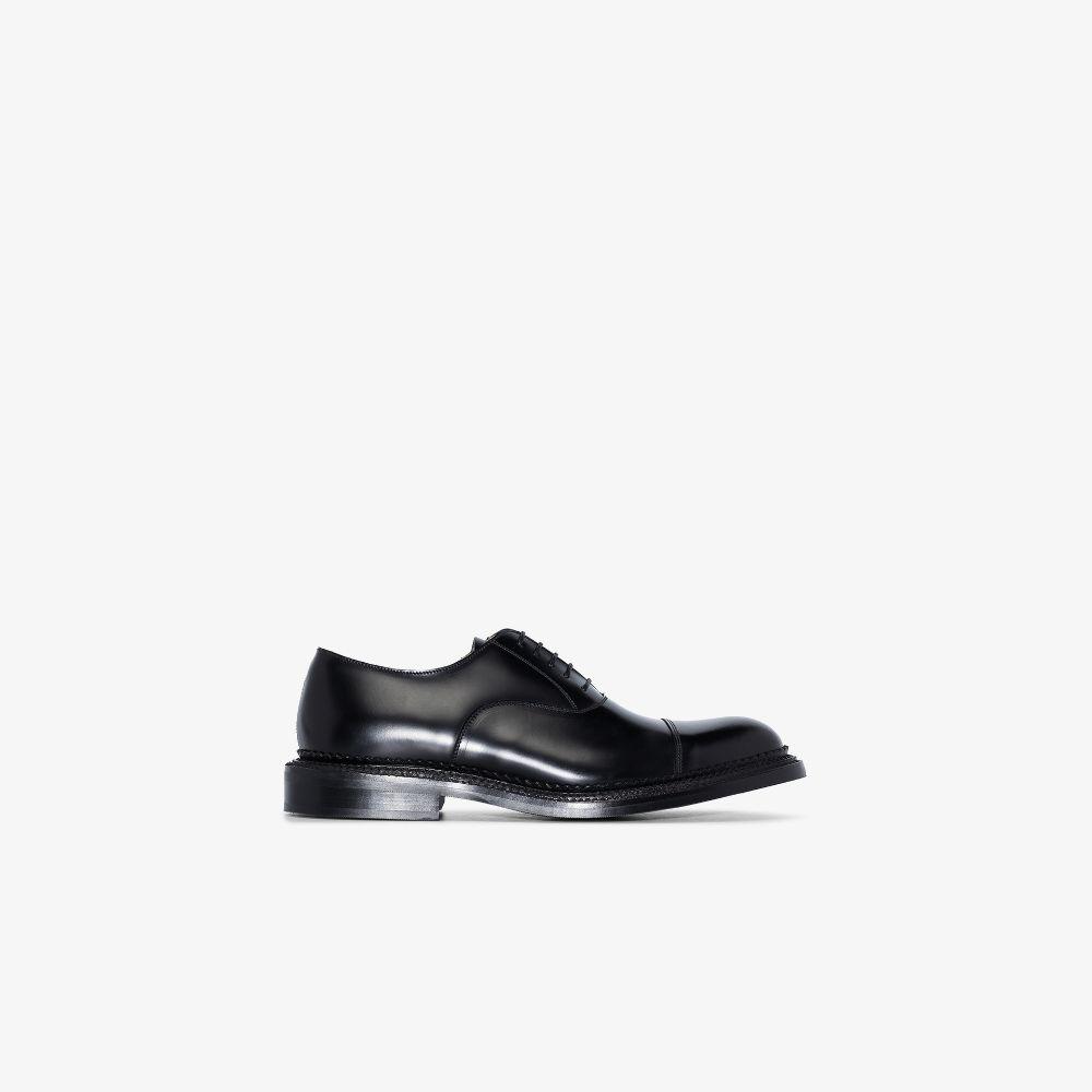 Black Gresham Leather Oxford Shoes