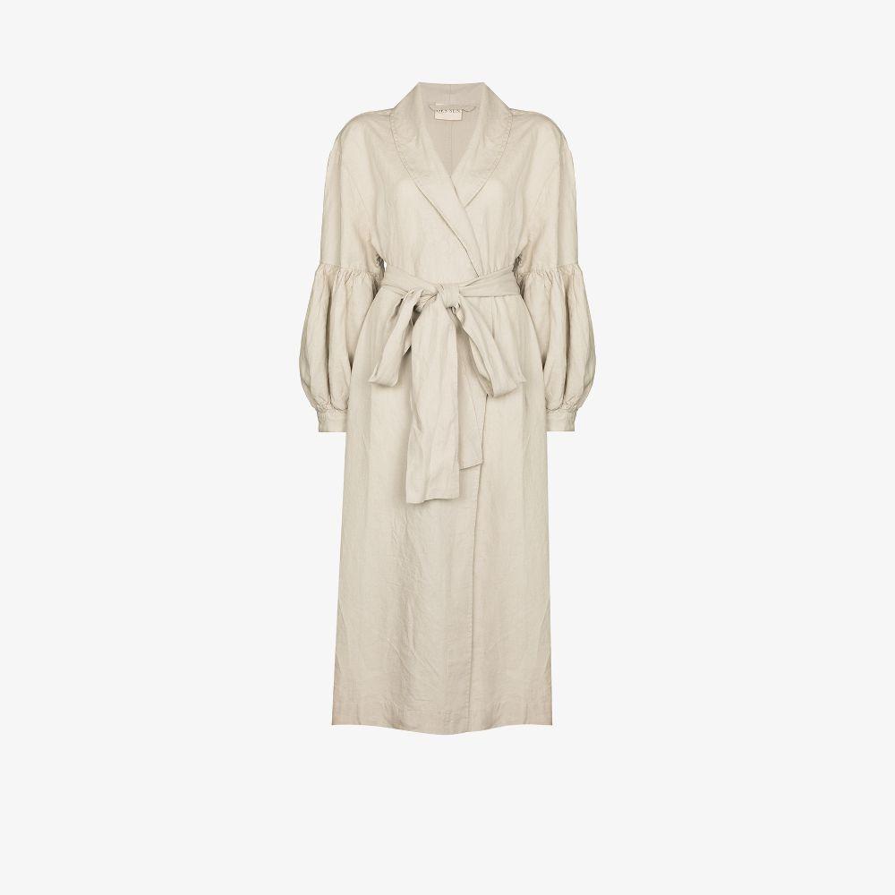 Sabi French Flax Linen Robe