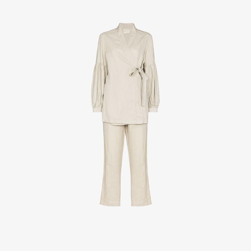 Odessa French Flax Linen Pyjamas