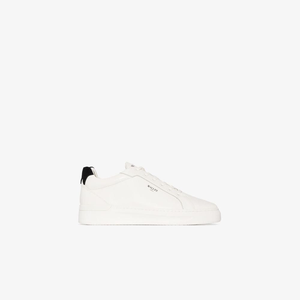 White GRFTR Black Tab Sneakers