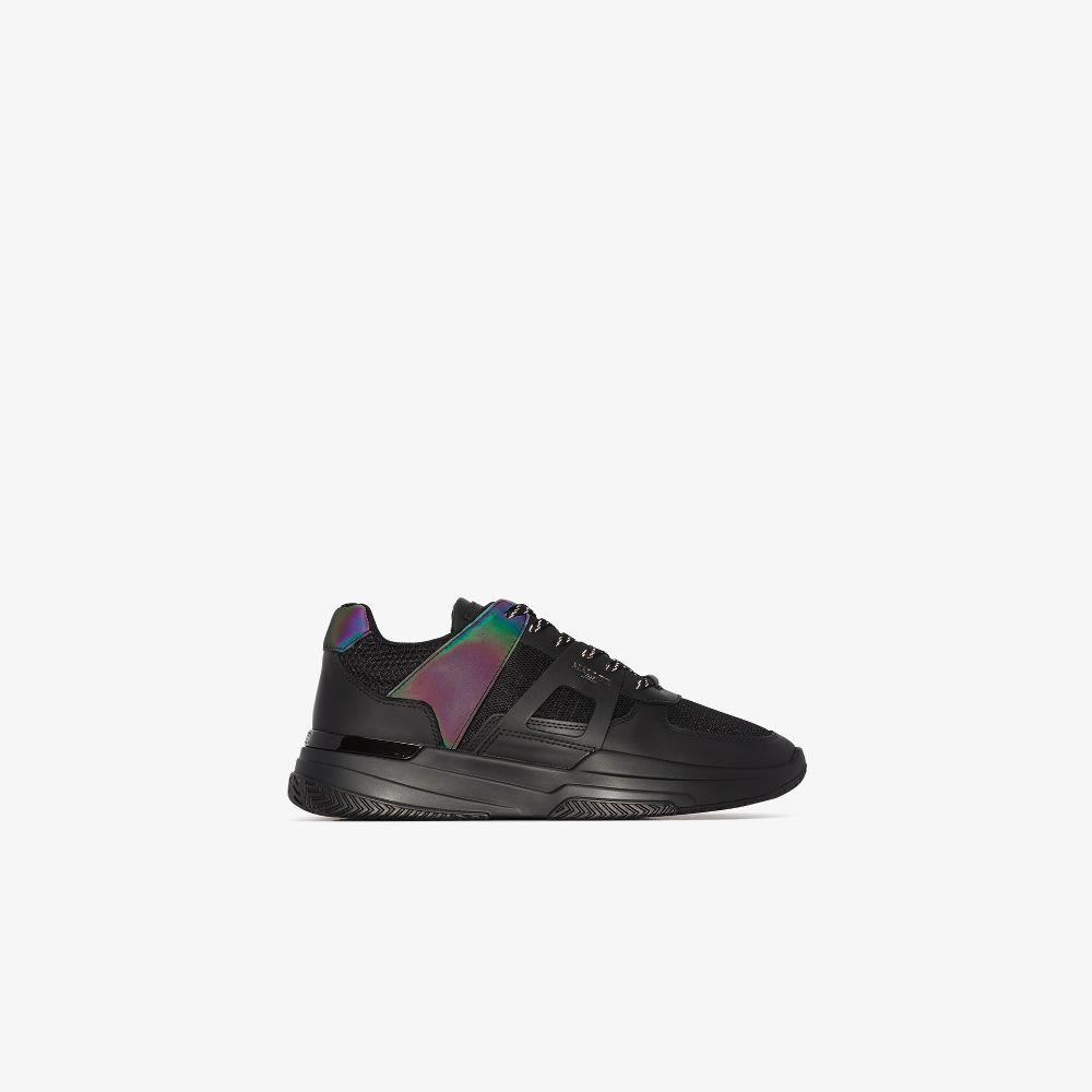 Black Marquess Midnight Slick Sneakers
